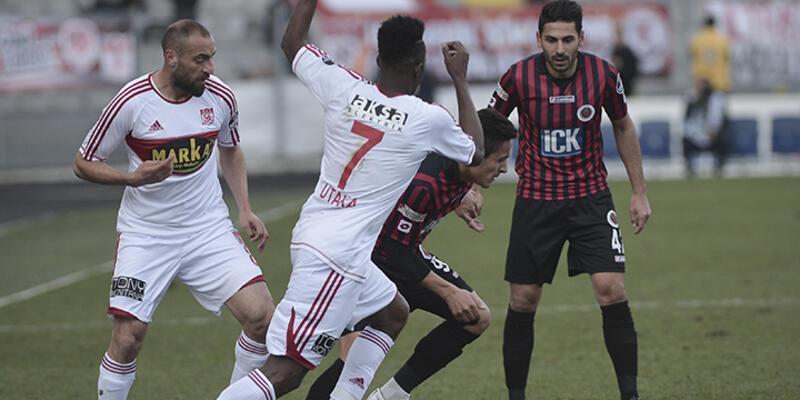 Gençlerbirliği - Sivasspor: 0-0