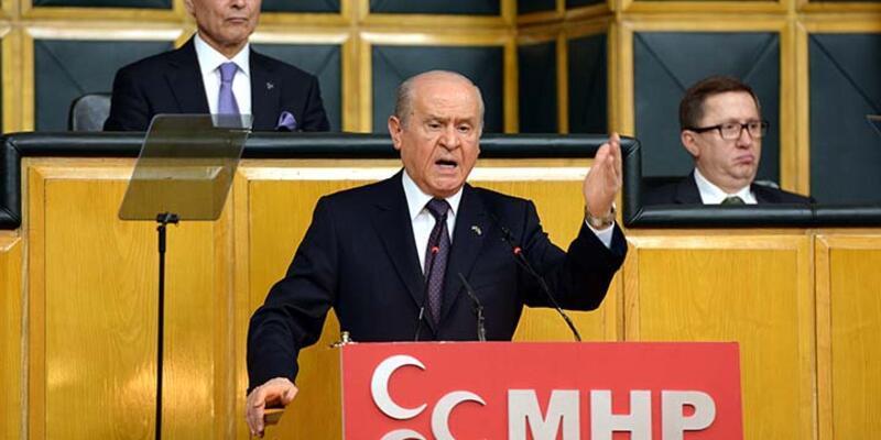 """MHP lideri Bahçeli'den """"koalisyon görüşmesine kapalı durmayız"""" açıklaması"""