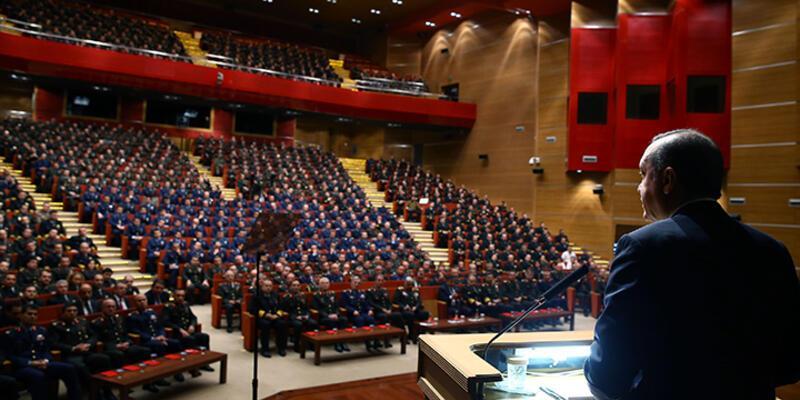 Erdoğan subaylara seslendi: ''Aldatıldık''