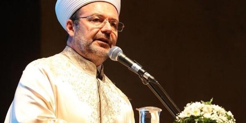 Diyanet İşleri Başkanı Mehmet Görmez evine yürüyerek gitmiş
