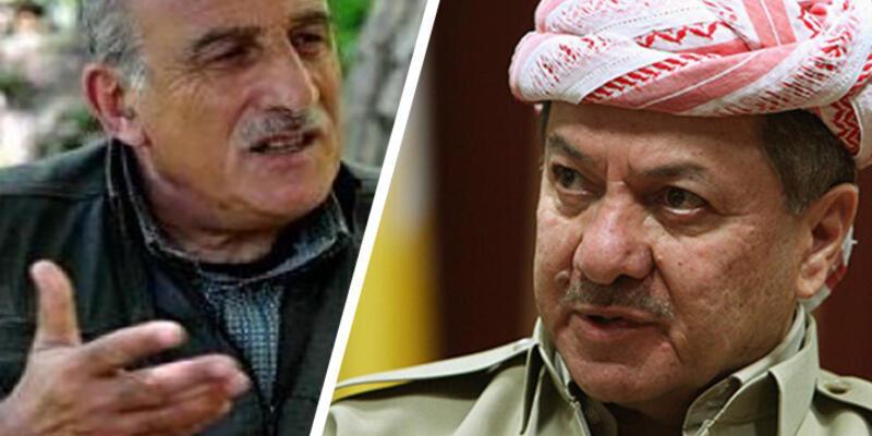 Barzani'nin partisinden PKK'lı Kalkan'a yönelik ağır ifadeler