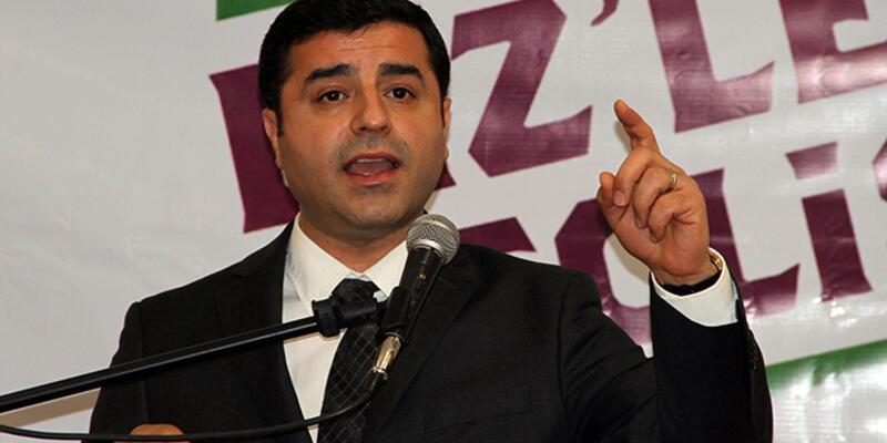 """Demirtaş: """"Erdoğan'la kişisel bir husumetimiz yok"""""""