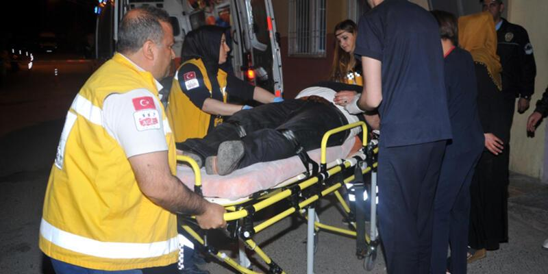 Gaziantep'te boşanma kavgası: 1'i polis, 14 yaralı