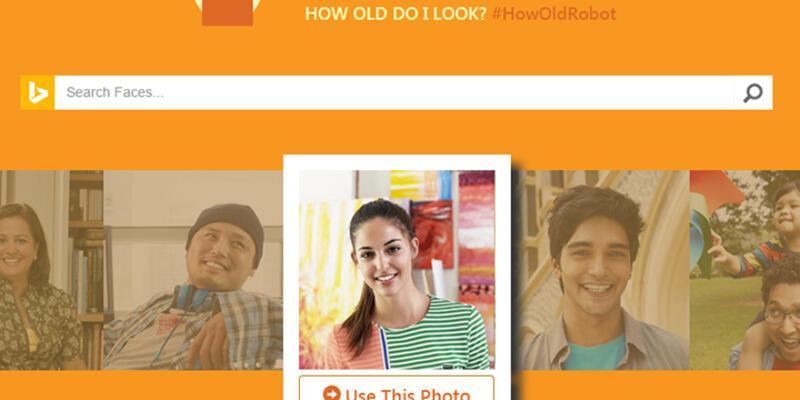 Microsoft'tan kavga çıkartacak uygulama: Kaç yaşında gösteriyorsun?