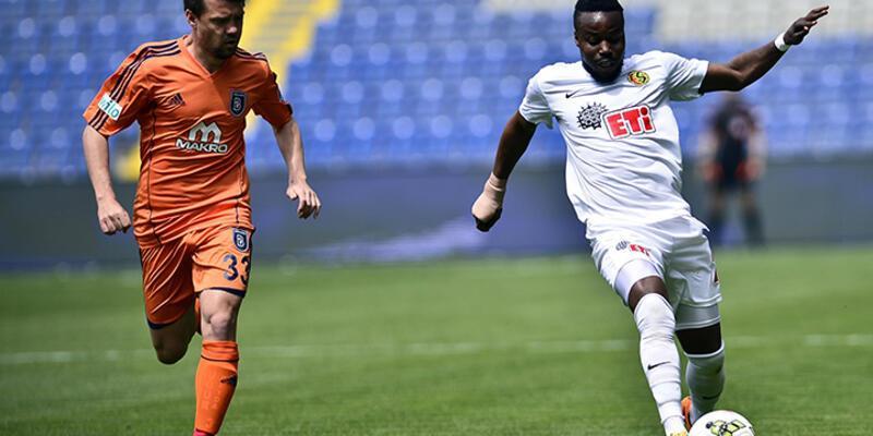 İstanbul Başakşehir - Eskişehirspor: 1-1