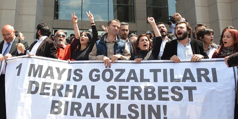 1 Mayıs'ta tutuklanaların sayısı 19'a çıktı