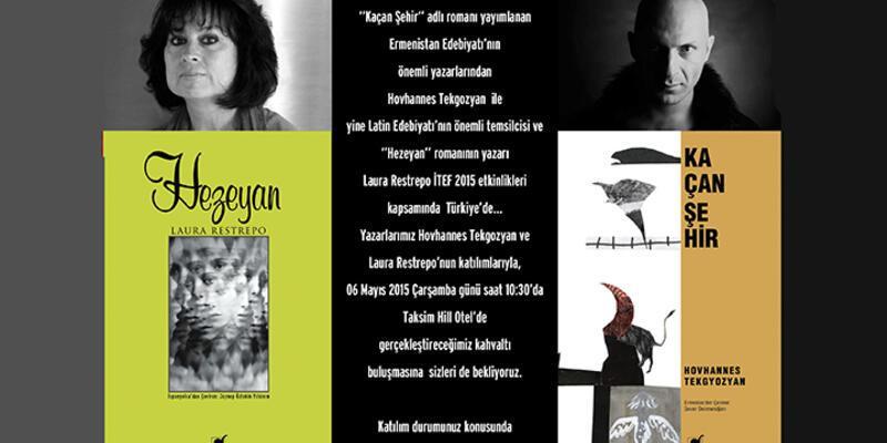 Ermeni ve Latin edebiyatının önemli yazarları İstanbul'da