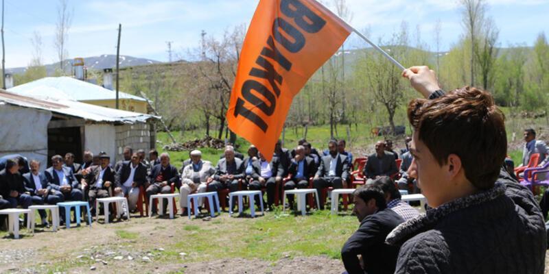 AKP listesine kızdılar seçimi boykot ediyorlar!