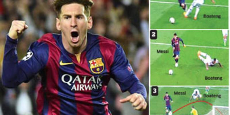 Messi, Ronaldo'yu solladı!