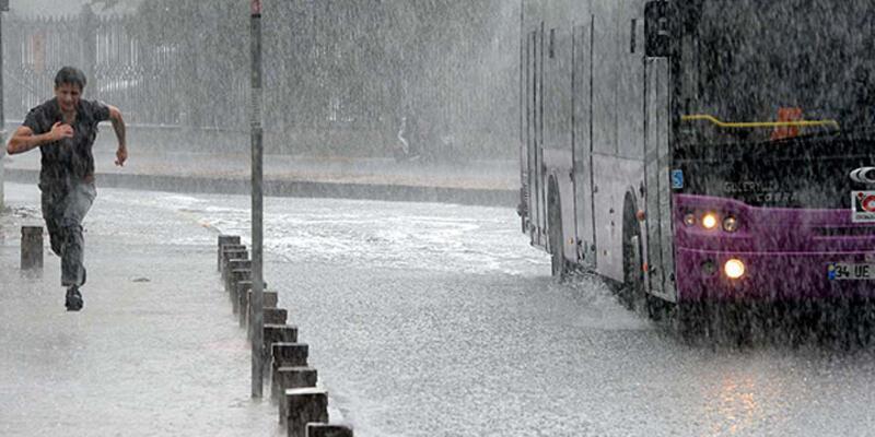 Marmara'da kuvvetli yağışa dikkat