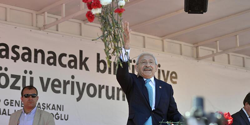 CHP lideri Kılıçdaroğlu Bartın mitinginde konuştu