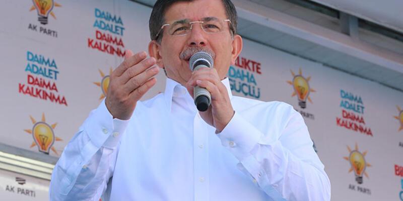 Başbakan Davutoğlu Karaman'da konuştu