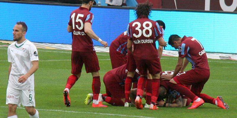 Trabzonspor'dan altın gol!