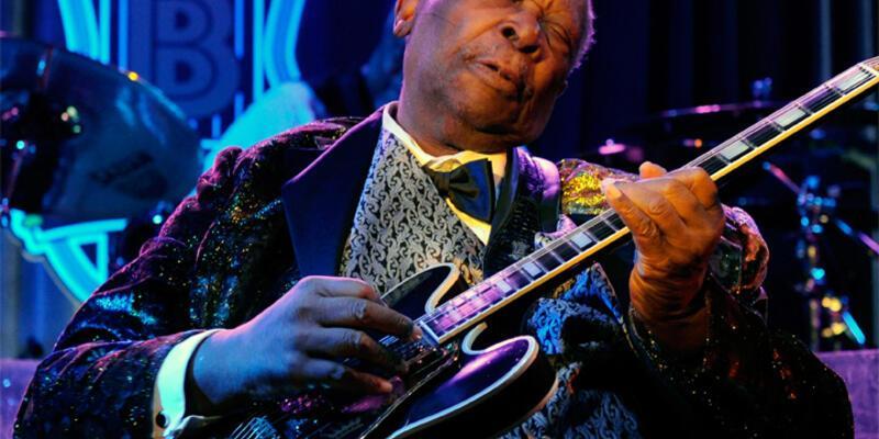 """Blues'un """"Kral""""ı B.B. King hayatını kaybetti"""