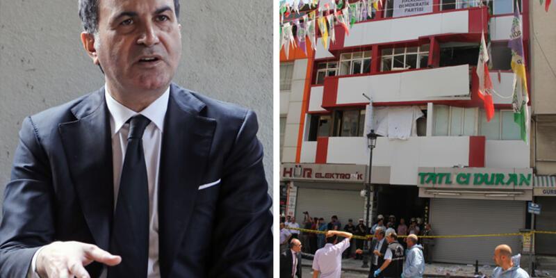 """Bakan Çelik'ten HDP'ye saldırı açıklaması: """"Bir takım bulgulara ulaştık"""""""