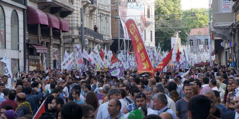 HDP'ye yönelik saldırılar protesto edildi