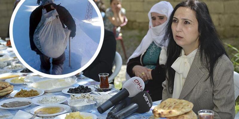 Figen Yüksekdağ, Van'da Muharrem Taş'ın ailesini ziyaret etti