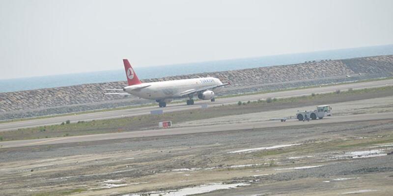 Ordu-Giresun Havaalanına ilk uçak indi
