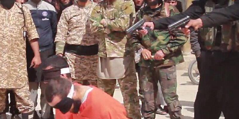 """""""IŞİD 280 kişiyi infaz etti"""" iddiası!"""