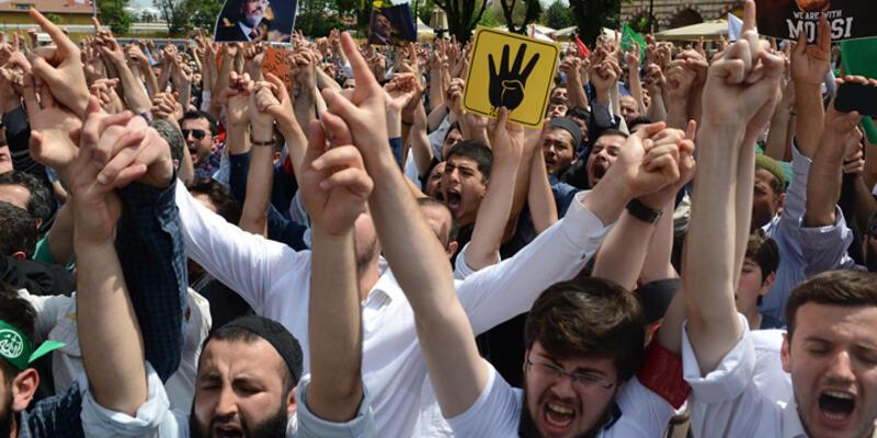 Sultanahmet'te Ayasofya eylemi