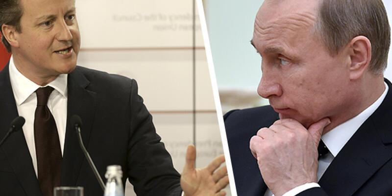Putin ile Cameron, Suriye ve Ukrayna'yı konuştu