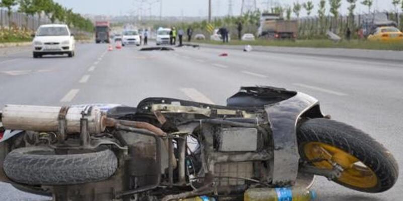 Başakşehir'de motosiklet kazası: 2 kişi öldü