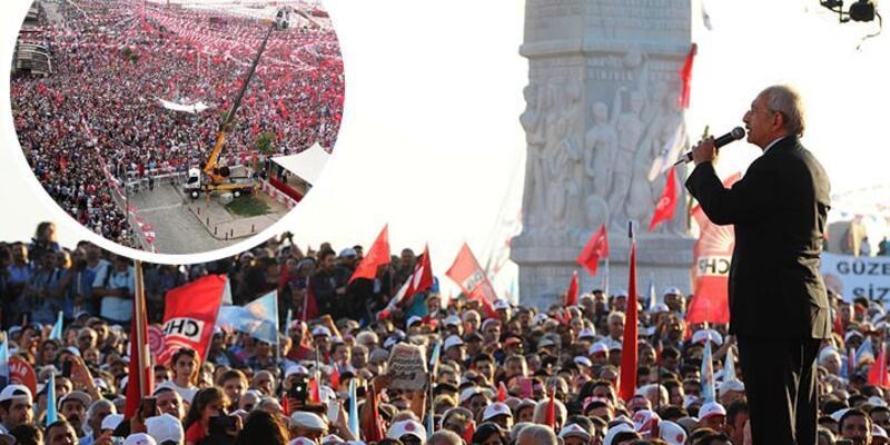 CHP lideri Kılıçdaroğlu İzmir mitinginde konuştu