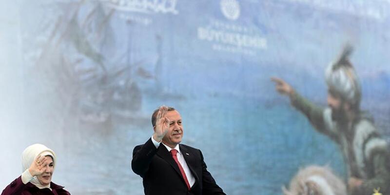 Cumhurbaşkanı Erdoğan, fetih şöleninde konuştu