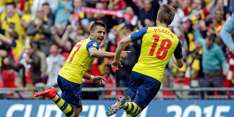 Arsenal o kupayı arka arkaya ikinci kez kazandı