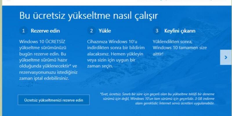 """""""Ücretsiz"""" Windows 10'un çıkış tarihi açıklandı"""