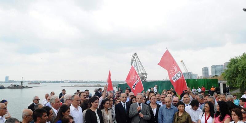 CHP'den Ataköy protestosu