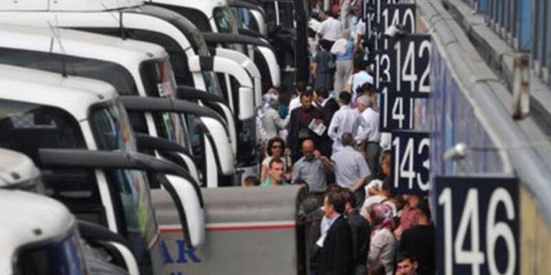 Otogar'da seçim hareketliliği