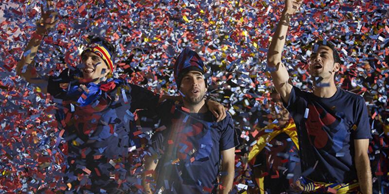 Barcelona'nın kupa coşkusu