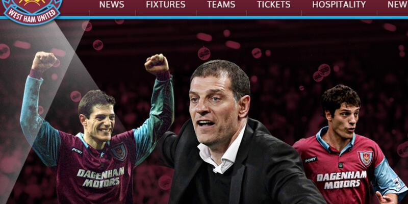 West Ham Bilic'i resmen açıkladı