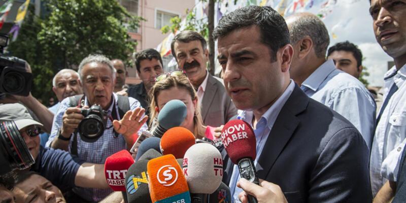 """MHP'den Demirtaş'a """"şeref"""" yanıtı"""