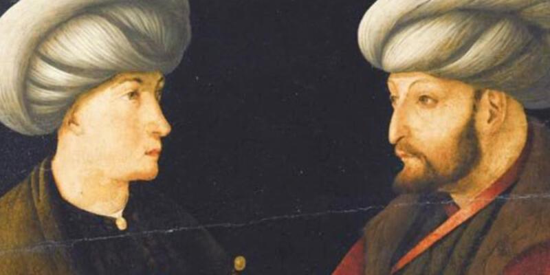 Fatih Sultan Mehmet tablosuna servet!