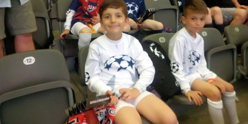 Küçük Umut Eren'in hedefi Barcelona forması giymek