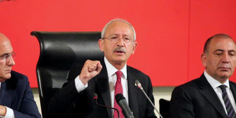 CHP MYK Meclis Başkanı seçimi için toplandı