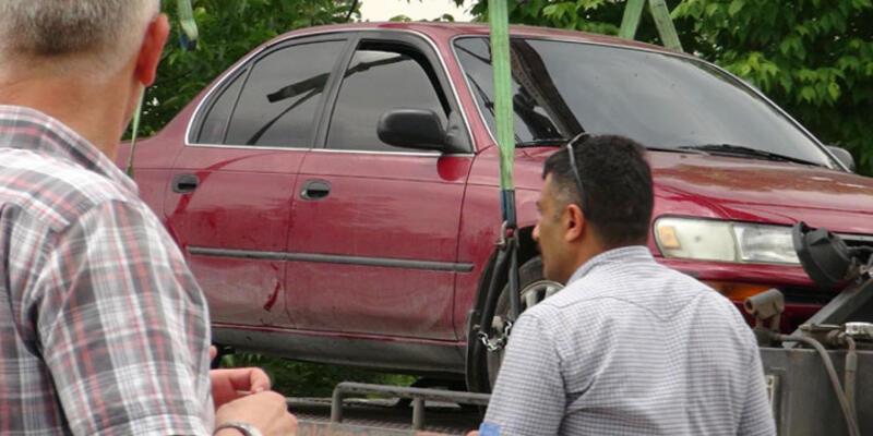 Cezaevi Müdürü Aktürk suikastinde kullanılan otomobil bulundu