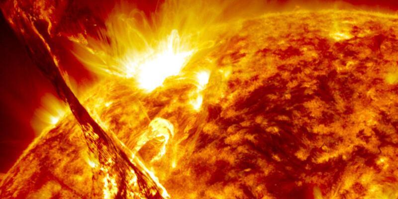 2005'ten beri yaşanan en şiddetli patlama Dünya'ya ulaştı