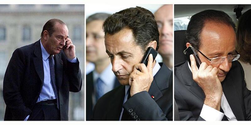 ABD, Fransa'nın son 3 başkanını da dinlemiş