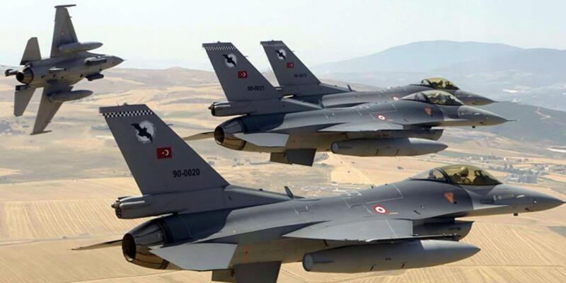 Kuzey Irak'a hava harekatı: 67 PKK'lı öldürüldü
