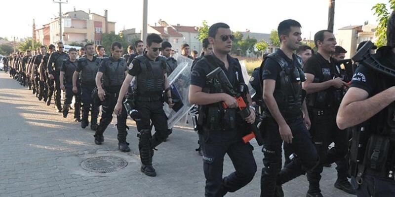 Keşan'da 700 polisle huzur operasyonu
