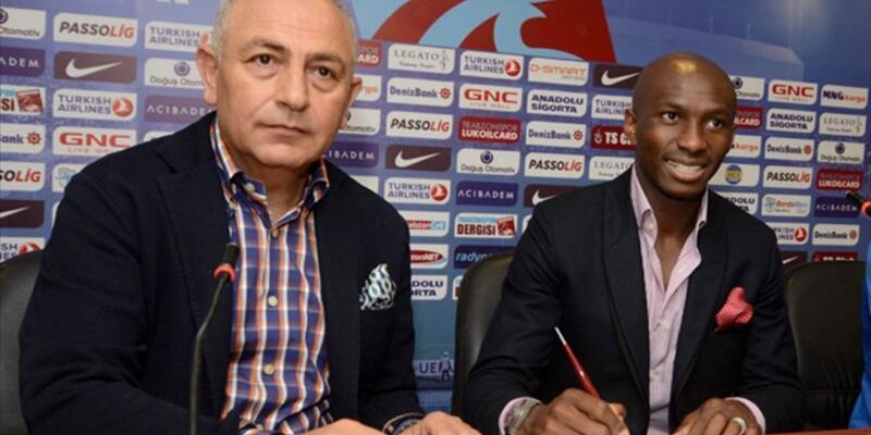 M'Bia'dan Trabzonspor'a ihtarname