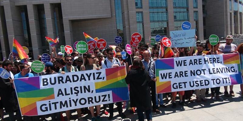 LGBTİ'liler suç duyurusunda bulundu