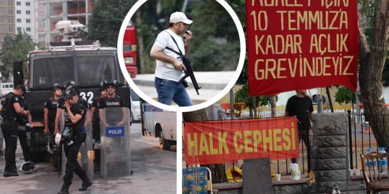 İstanbul polisinden pankart operasyonu