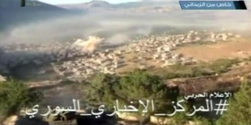 Suriye ordusundan muhaliflere büyük darbe