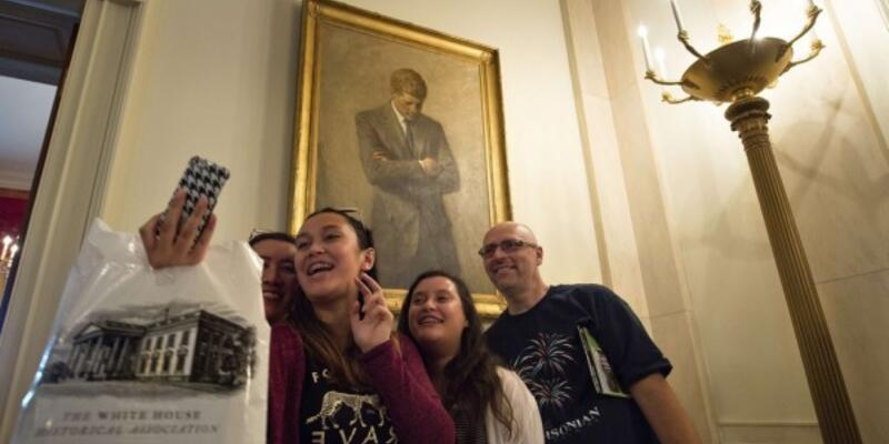 Beyaz Saray'da fotoğraf çekme özgürlüğü