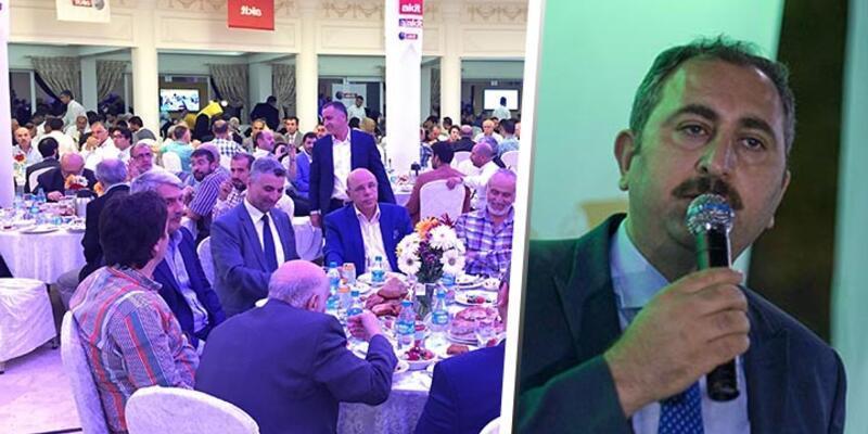 AK Parti Genel Başkan Yardımcısı Gül, Yeni Akit'in iftarında konuştu