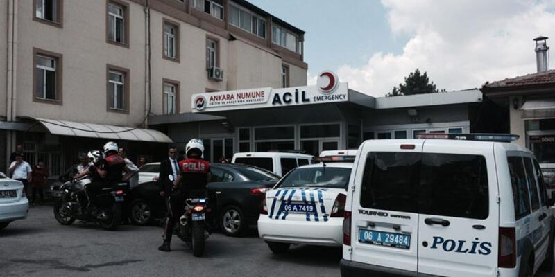Hastaneye getirilen mahkum 2'si asker 3 kişiyi silahla yaralayıp firar etti